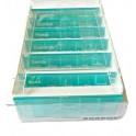 ANABOX 7 napos gyógyszeradagoló szett - világoskék